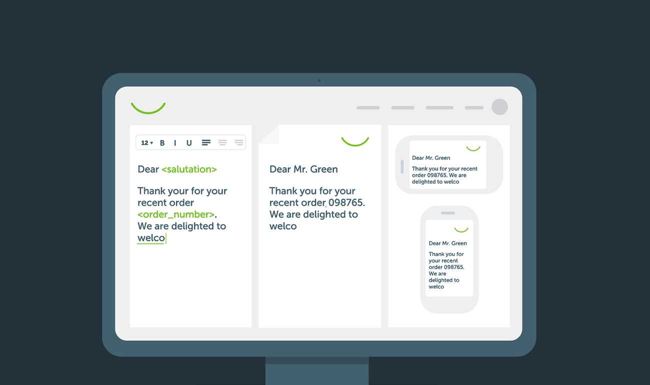 Self-service customer communications project update