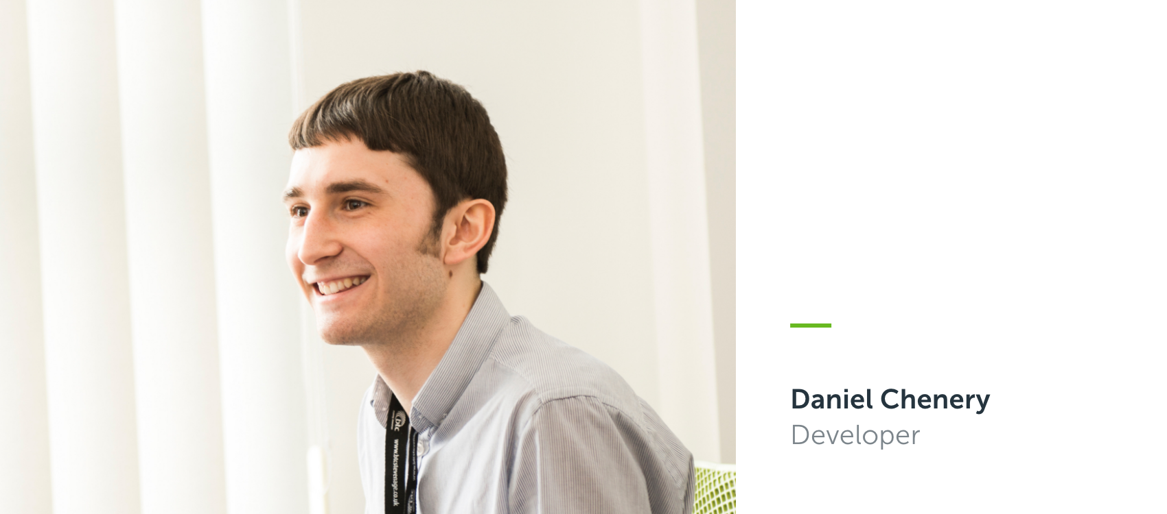 DocCentrics introduces Daniel Chenery to the development team